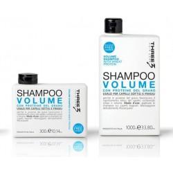 Three Volume plaukų apimtį didinantis šampūnas