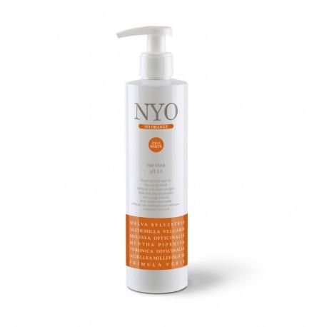 NYO No Orange oranžinį plaukų atspalvį neutralizuojanti kaukė
